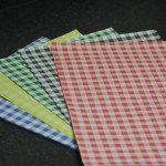 Gingham Duplex Paper